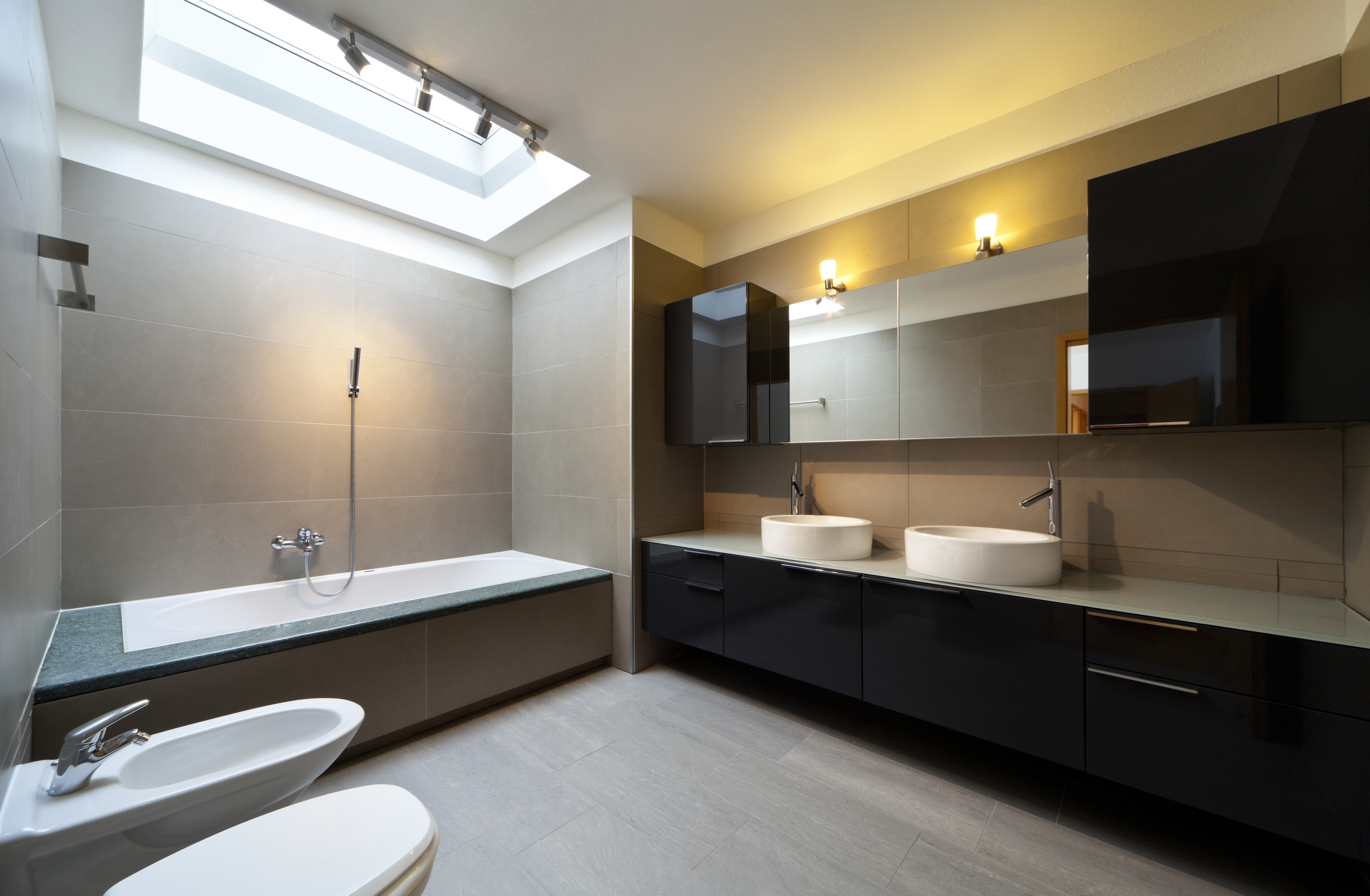 Hiding the Plumbing in Your Bathroom