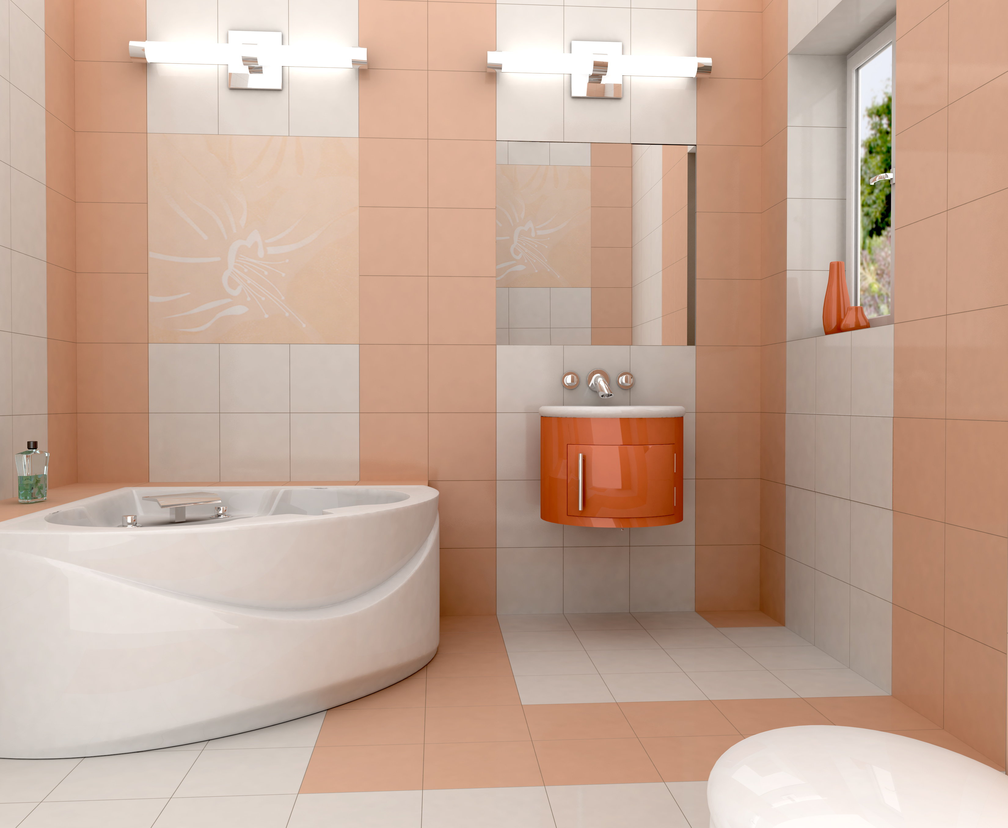 Small Or Large Tiles For Bathroom Floors