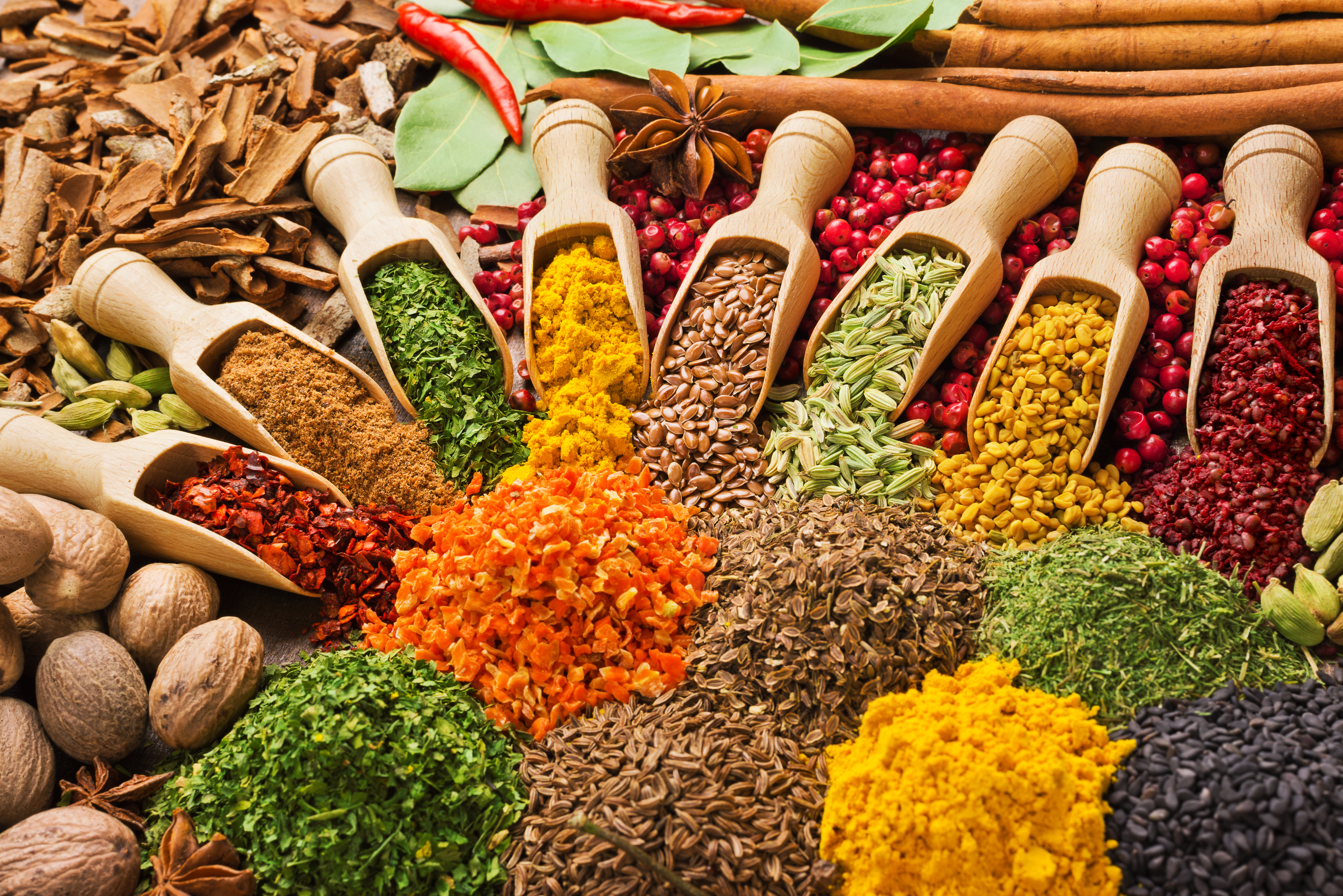 Common Spices and Herbs Demystified