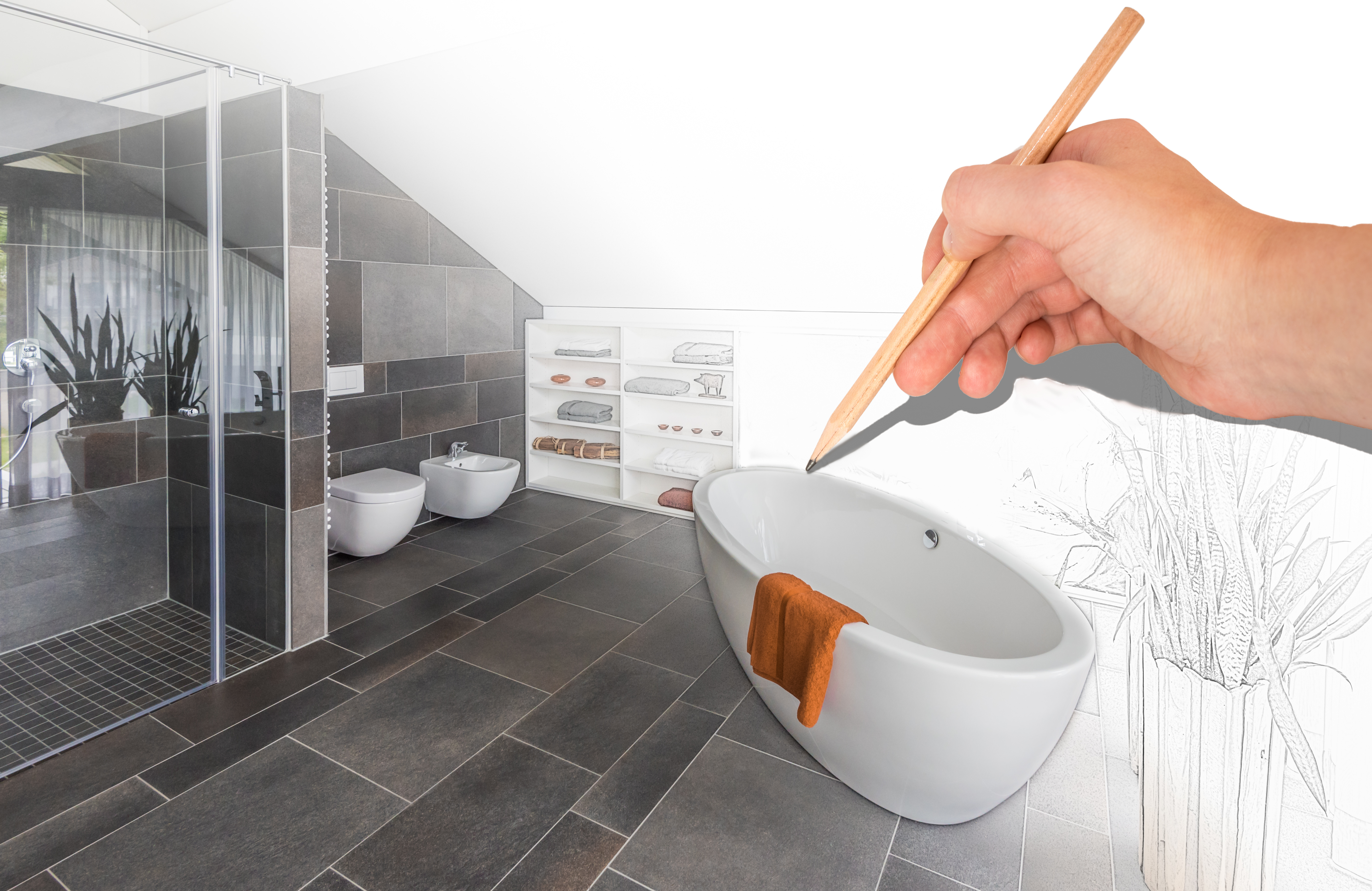 Modern design concepts can transform your bathroom.