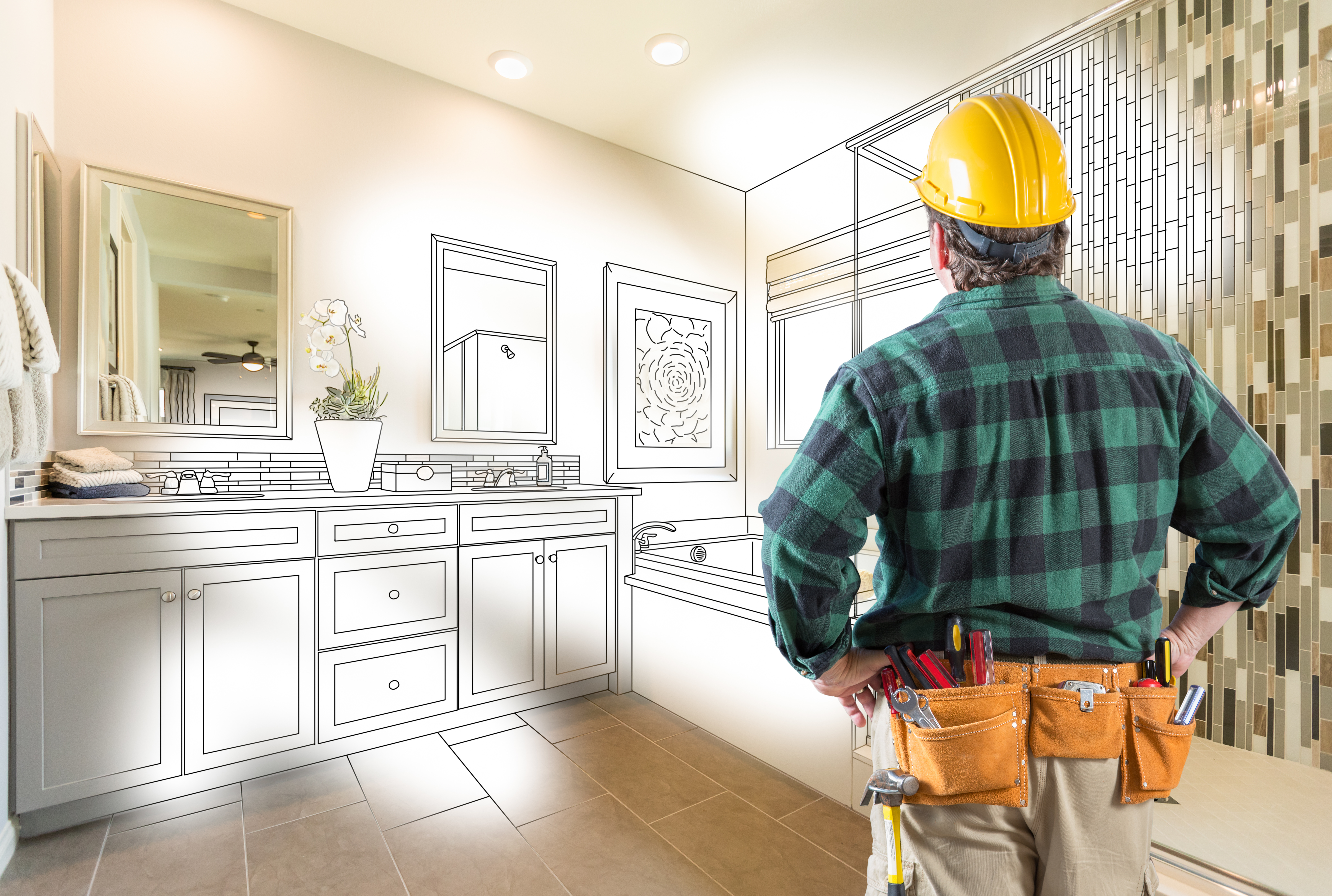 Adding a bathroom to your existing home may add value to your home.