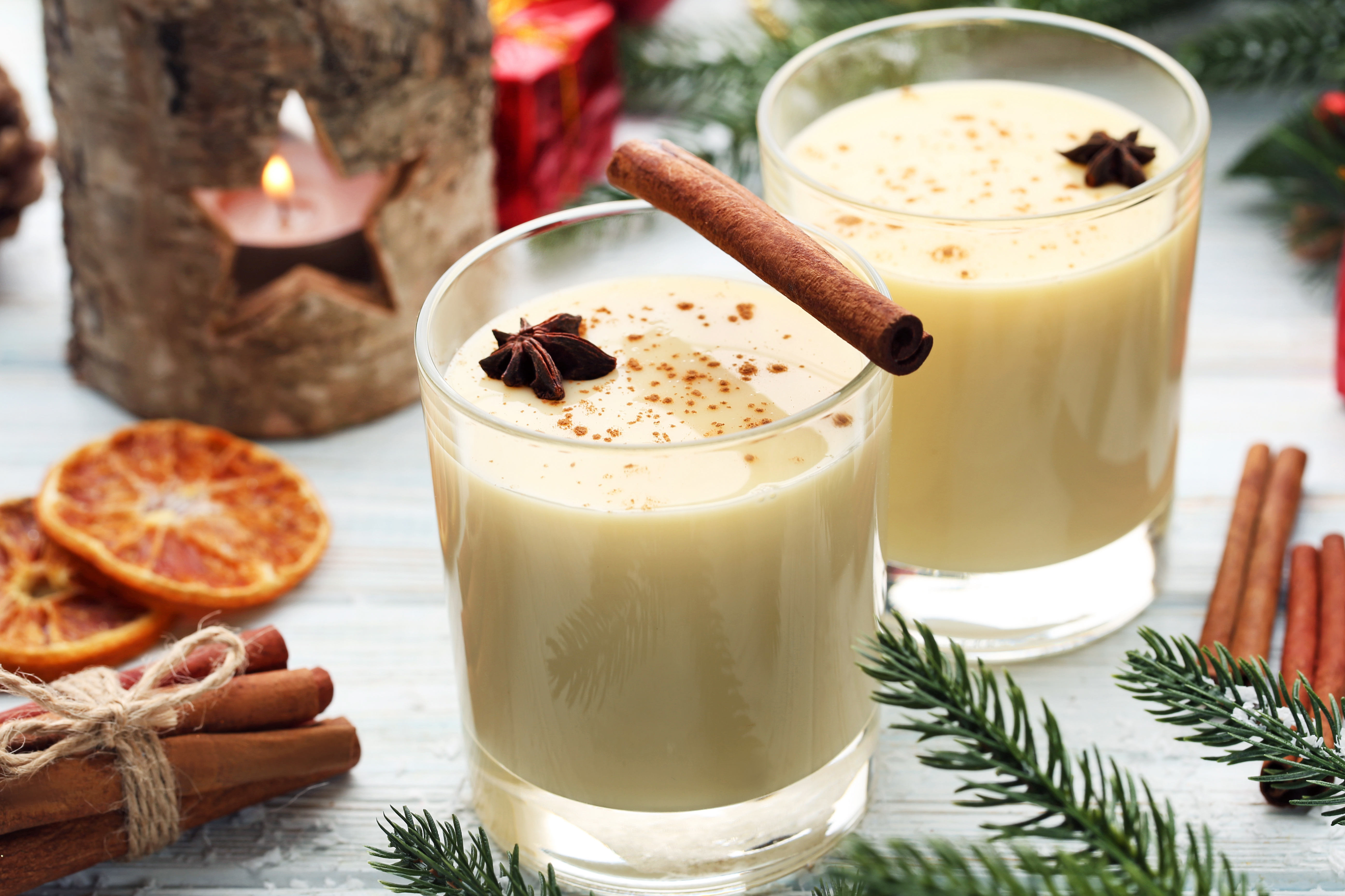 Mexican eggnog would help you create a Southwest style Thanksgiving at your Arizona home.
