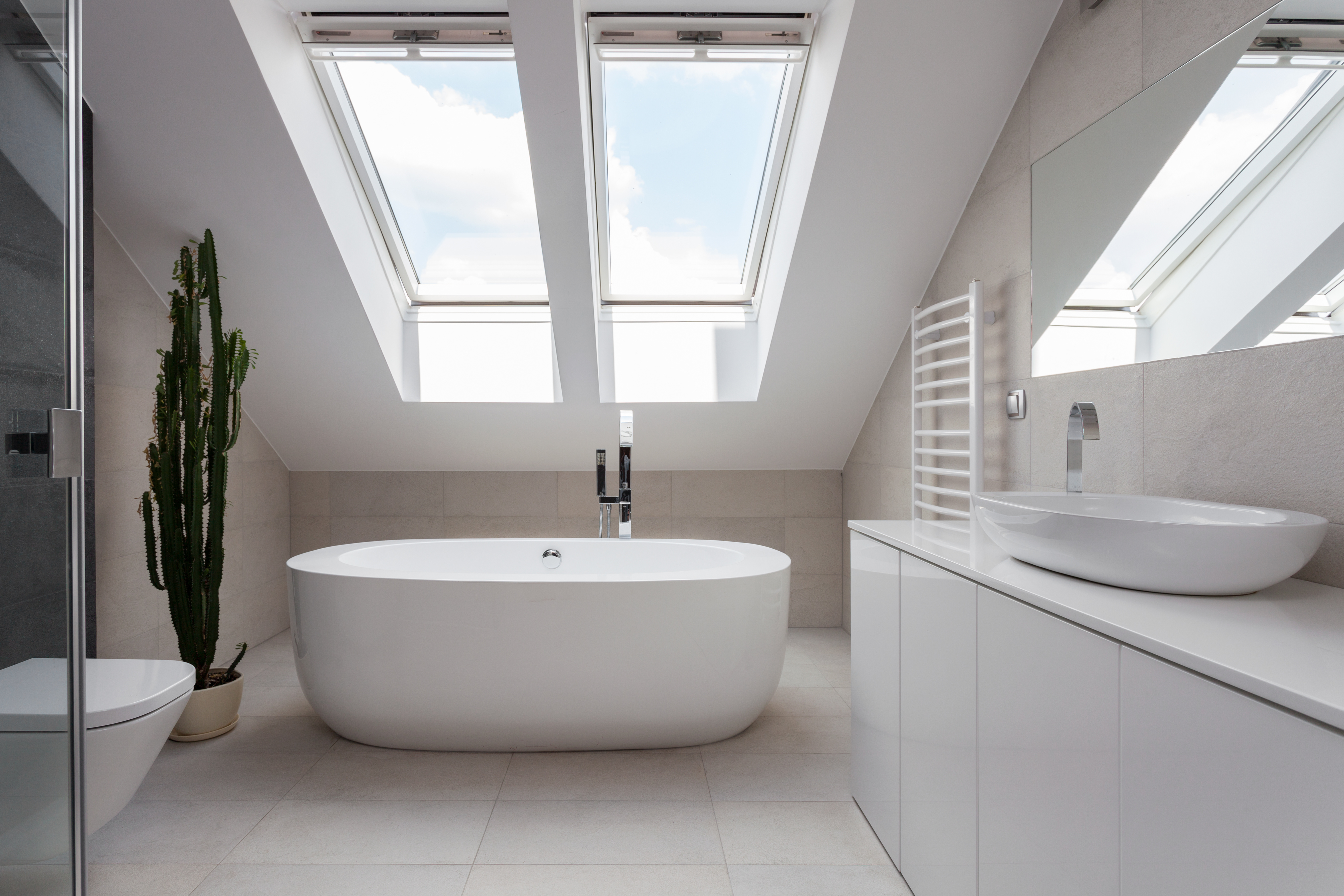 If you recently installed energy-saving features such as a skylight in your bathroom, you should ask your tax preparer if there are tax benefits for you.