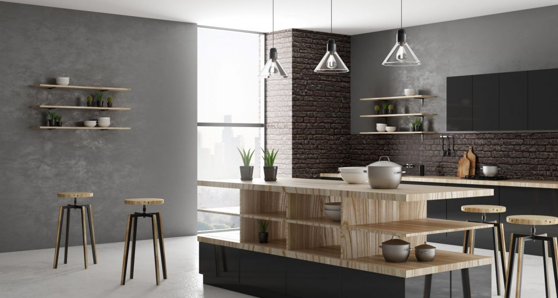 Modern kitchen design styles feature very little clutter.